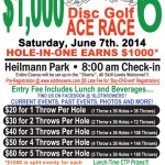 $1000 Ace Race!!! Saturday, June 7th!